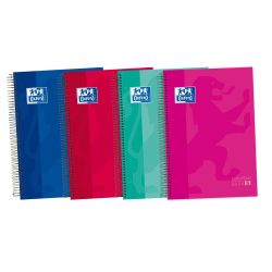 OXFORD SCHOOL CLASSIC A4+ Tapa Extradura Europeanbook 5 Liso 120 Hojas colores surtido SCRIBZEE
