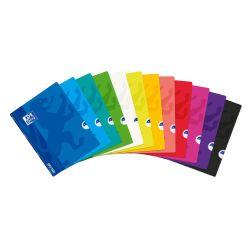 Libreta grapada tapa plástico OPENFLEX A4+ Seyés con margen