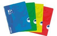 OXFORD SCHOOL CLASSIC OPENFLEX A5 Tapa de plástico libreta grapada 1 Línea con 2 margenes 48 Hojas colores surtidos