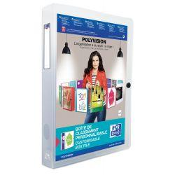 Carpeta de proyectos OXFORD POLYVISION A4+ Lomo 40mm polipropileno transparente