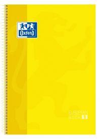OXFORD SCHOOL CLASSIC A4+ Tapa Extradura Europeanbook 1 5x5 80 Hojas AMARILLO SCRIBZEE