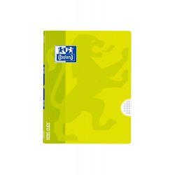 OXFORD SCHOOL CLASSIC OPENFLEX A5+ Tapa de plástico libreta grapada 4x4 con margen 48 Hojas LIMA