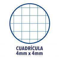 OXFORD SCHOOL CLASSIC OPENFLEX A5+ Tapa de plástico libreta grapada 4x4 con margen 48 Hojas LILA