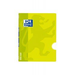 OXFORD SCHOOL CLASSIC OPENFLEX A5+ Tapa de plástico libreta grapada Liso 48 Hojas Lima
