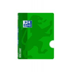 OXFORD SCHOOL CLASSIC OPENFLEX A5+ Tapa de plástico libreta grapada Liso 48 Hojas Verde
