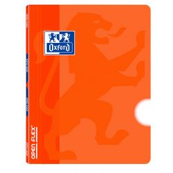 OXFORD SCHOOL OPENFLEX A4 Tapa de plástico libreta grapada LISO 48 Hojas Naranja