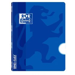OXFORD SCHOOL OPENFLEX A4 Tapa de plástico libreta grapada LISO 48 Hojas Azul