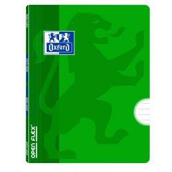 OXFORD SCHOOL CLASSIC OPENFLEX A4 Tapa de plástico libreta grapada 1 Línea con margen 48 Hojas Verde