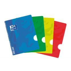 OXFORD SCHOOL CLASSIC OPENFLEX A5 Tapa de plástico libreta grapada Liso 48 Hojas colores surtidos