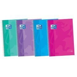 OXFORD SCHOOL CLASSIC A4+ Tapa Extradura Europeanbook 5 50% HOJAS GRATIS 5x5 120 Hojas colores tendencia SCRIBZEE