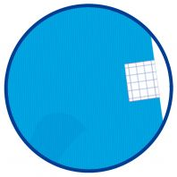 OXFORD SCHOOL CLASSIC Fº Tapa de plástico cuaderno espiral 4x4 con margen 80 Hojas AQUA