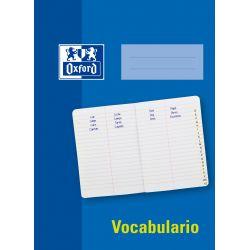 OXFORD SCHOOL VOCABULARIO A5 Tapa Blanda Libreta grapada Rayado especial horizontal con línea vertical 48 Hojas Azul