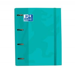 Oxford Classic A4+ Europeanbinder Ice Mint Lomo 45mm 4Dx35 con Recambio 5 5x5