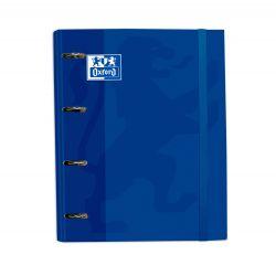 Oxford Classic A4+ Europeanbinder Azul Lomo 45mm 4Dx35 con Recambio 5 5x5