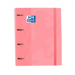 Oxford Classic A4+ Europeanbinder Rosa Chicle Lomo 45mm 4Dx35 con Recambio 5 5x5