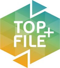 OXFORD Top File+ carpeta de gomas 3 solapas AZUL
