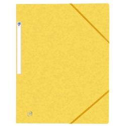 OXFORD Top File+ carpeta de gomas 3 solapas AMARILLO