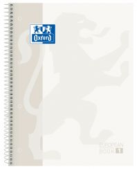 OXFORD SCHOOL CLASSIC A4+ Tapa Extradura Europeanbook 1 5x5 80 Hojas BLANCO SCRIBZEE