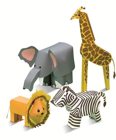 Animales con materiales reciclables - Imagui