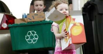 ninos que reciclan