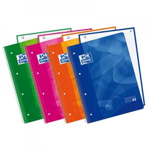 Europeanbook 1 tapa de plástico (4 colores)